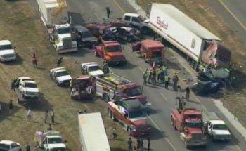 Highway Crash Scene